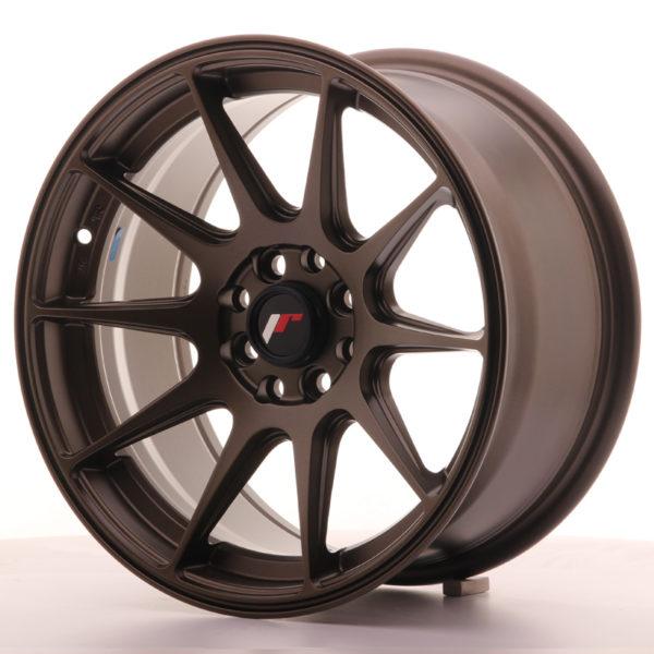 JR Wheels JR11 16x8 ET25 4x100/114 Matt Bronze