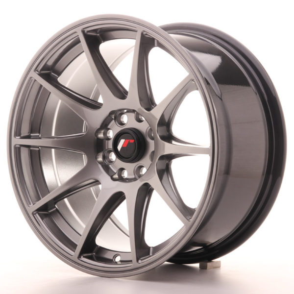 JR Wheels JR11 16x8 ET25 4x100/108 Hyper Black