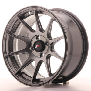 JR Wheels JR11 16x8 ET25 4x100 Dark Hyper Black