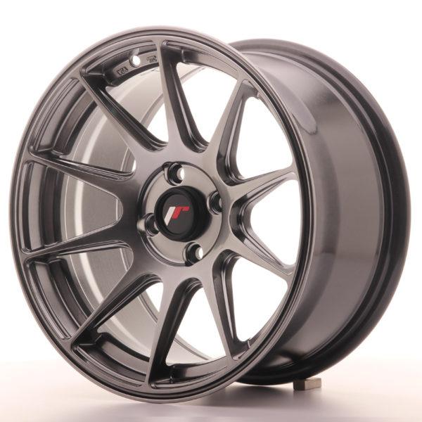 JR Wheels JR11 16x8 ET25 4x100 Dark Hyper Black