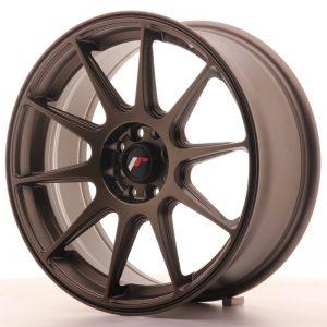 JR Wheels JR11 17x7,25 ET35 4x100/114,3 Matt Bronze