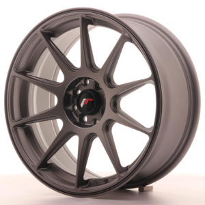JR Wheels JR11 17x7,25 ET35 4x100/114,3 Matt Gun Metal