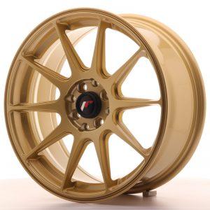JR Wheels JR11 17x7,25 ET35 5x100/114,3 Gold