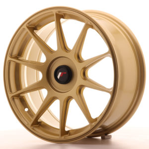 JR Wheels JR11 17x7,25 ET35-40 BLANK Gold