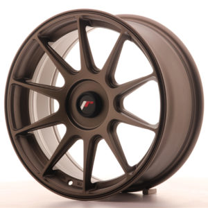 JR Wheels JR11 17x7,25 ET35-40 BLANK Matt Bronze