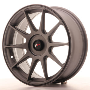 JR Wheels JR11 17x7,25 ET35-40 BLANK Matt Gun Metal