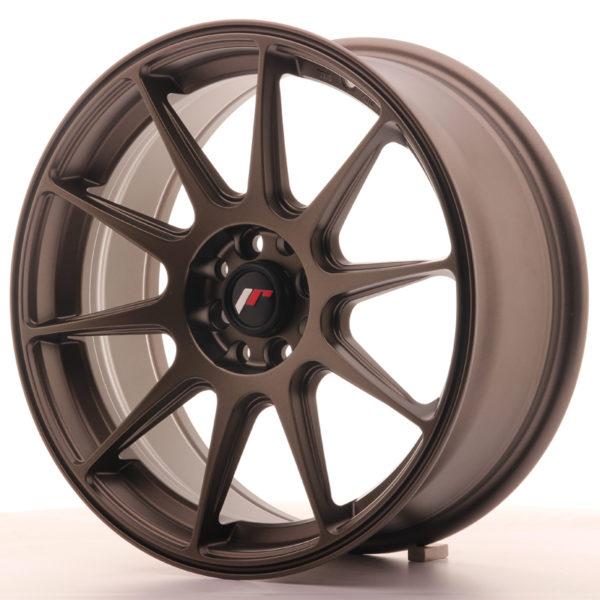 JR Wheels JR11 17x7,25 ET35 5x112/114,3 Matt Bronze
