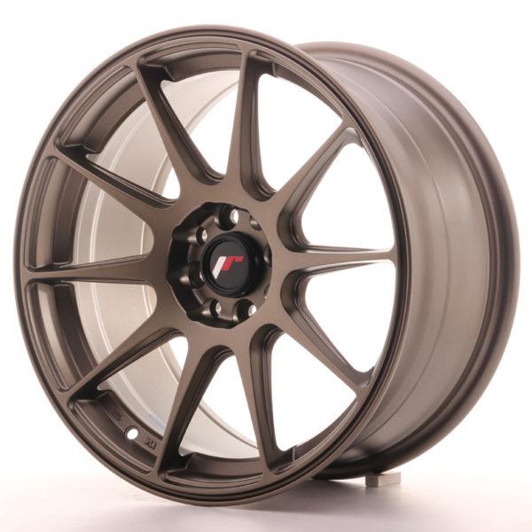JR Wheels JR11 17x8,25 ET25 4x100/108 Matt Bronze