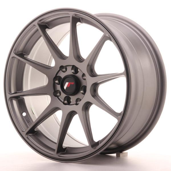 JR Wheels JR11 17x8,25 ET25 4x100/108 Matt Gun Metal
