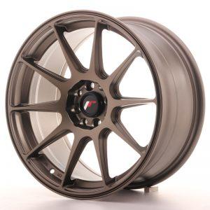JR Wheels JR11 17x8,25 ET35 5x100/114,3 Matt Bronze