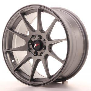 JR Wheels JR11 17x8,25 ET35 5x112/114,3 Matt Gun Metal