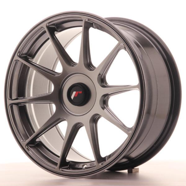 JR Wheels JR11 17x8,25 ET35 BLANK Hyper Black