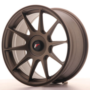 JR Wheels JR11 17x8,25 ET35 BLANK Matt Bronze
