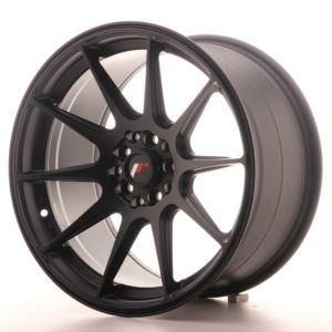 JR Wheels JR11 17x9 ET20 4x100/114 Matt Black