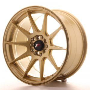 JR Wheels JR11 17x9 ET35 5x100/114 Gold