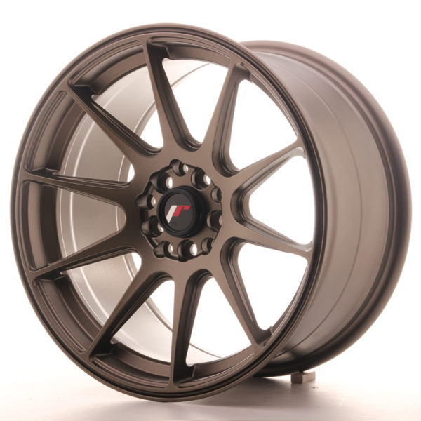 JR Wheels JR11 17x9 ET35 5x100/114 Matt Bronze