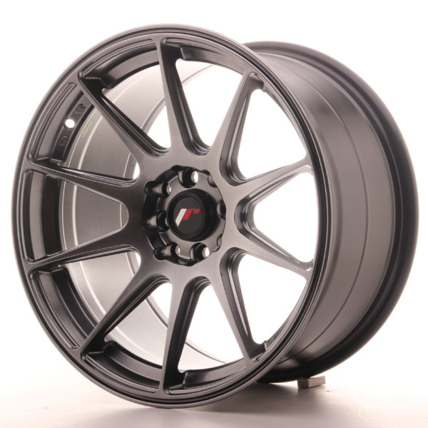JR Wheels JR11 17x9 ET35 5x100/108 Hyper Black