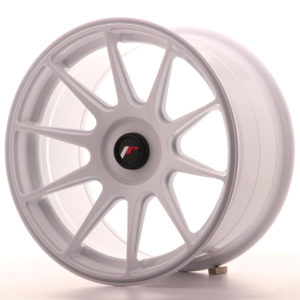 JR Wheels JR11 17x9 ET25-35 BLANK White