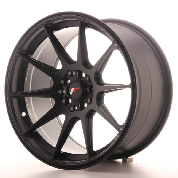 JR Wheels JR11 17x9 ET25 4x100/108 Matt Black