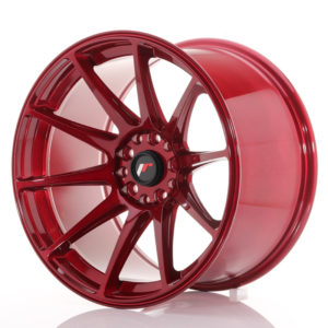 JR Wheels JR11 18x10,5 ET22 5x114/120 Platinum Red