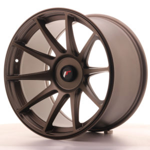 JR Wheels JR11 18x10,5 ET22-25 BLANK Dark Bronze
