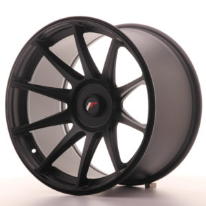 JR Wheels JR11 18x10,5 ET22-25 BLANK Flat Black
