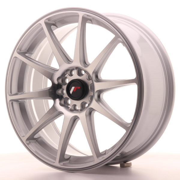JR Wheels JR11 18x7,5 ET35 5x100/120 Silver Machined Face