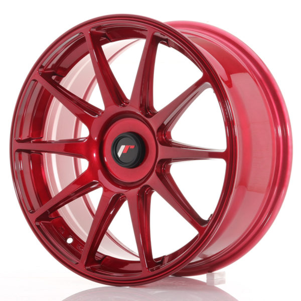 JR Wheels JR11 18x7,5 ET35-40 BLANK Platinum Red