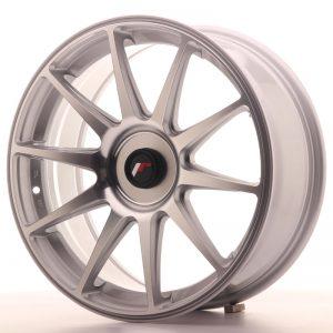 JR Wheels JR11 18x7,5 ET35-40 BLANK Silver Machined Face