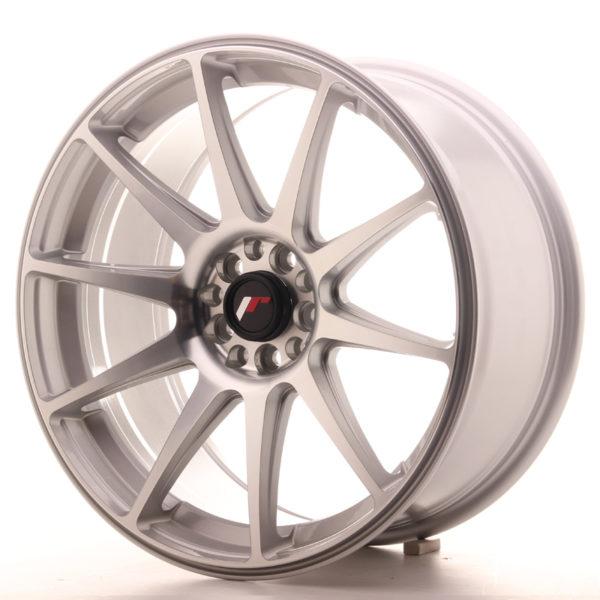 JR Wheels JR11 18x8,5 ET30 5x114/120 Silver Machined Face