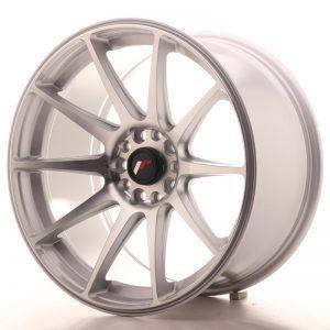 JR Wheels JR11 18x9,5 ET30 5x100/108 Silver Machined Face