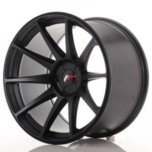 JR Wheels JR11 19x11 ET25 5H BLANK Matt Black