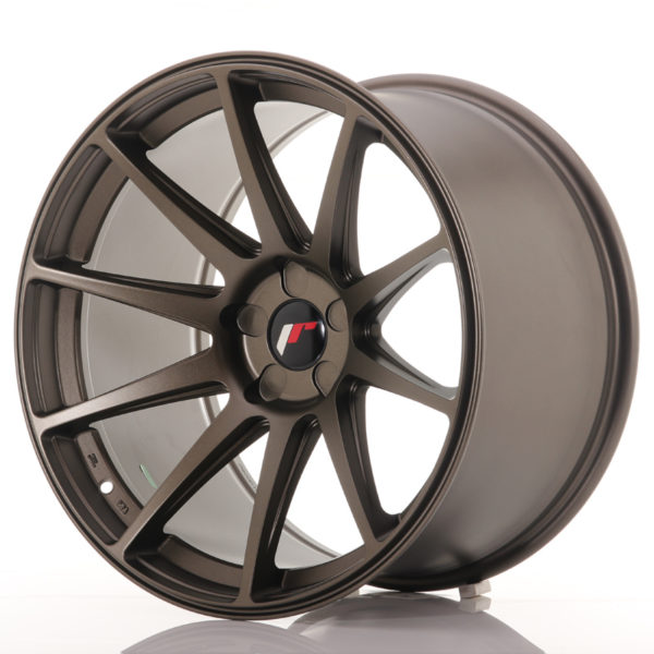 JR Wheels JR11 19x11 ET25 5H BLANK Bronze