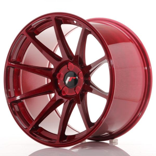 JR Wheels JR11 19x11 ET25 5H BLANK Platinum Red