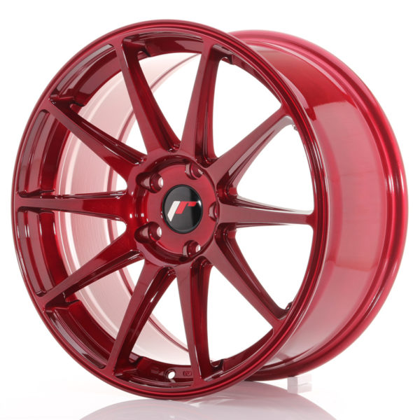 JR Wheels JR11 19x8,5 ET40 5x112 Platinum Red