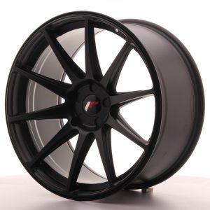 JR Wheels JR11 20x10 ET20-40 5H BLANK Matt Black