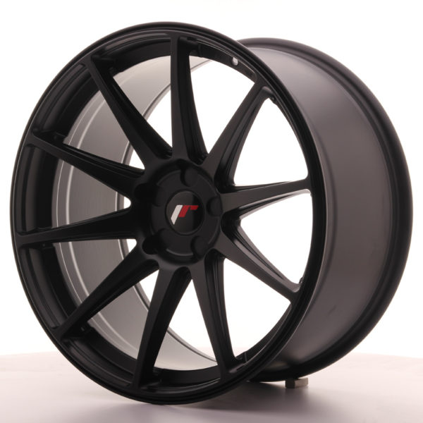 JR Wheels JR11 20x10 ET40 5H BLANK Matt Black