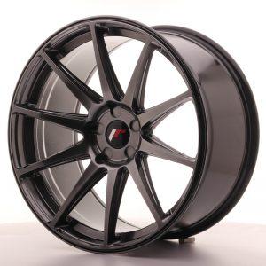 JR Wheels JR11 20x10 ET40 5H BLANK Hyper Black