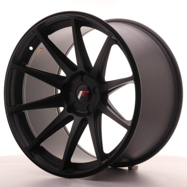 JR Wheels JR11 20x11 ET20-30 5H BLANK Matt Black