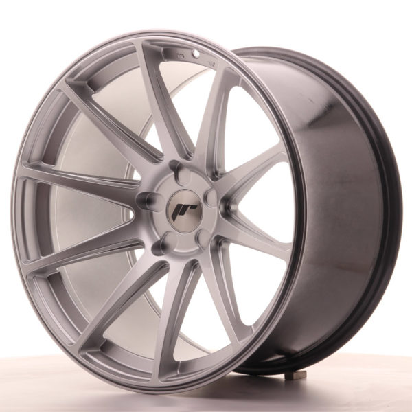 JR Wheels JR11 20x11 ET20-30 5H BLANK Hyper Silver