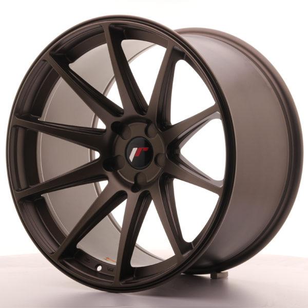 JR Wheels JR11 20x11 ET20-30 5H BLANK Matt Bronze