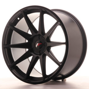 JR Wheels JR11 20x11 ET30-52 5H BLANK Matt Black