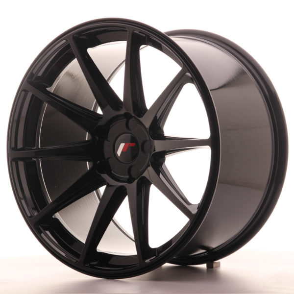 JR Wheels JR11 20x11 ET30-52 5H BLANK Gloss Black