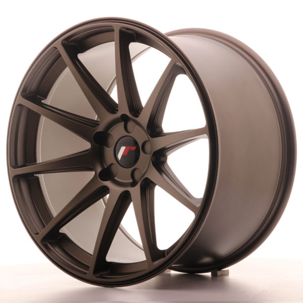 JR Wheels JR11 20x11 ET30-52 5H BLANK Matt Bronze
