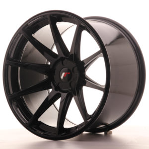 JR Wheels JR11 20x12 ET20-42 5H BLANK Gloss Black