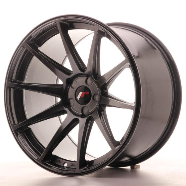 JR Wheels JR11 20x12 ET20-42 5H BLANK Hyper Black
