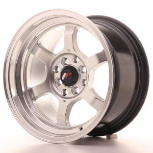 JR Wheels JR12 15x8,5 ET13 4x100/114 Hyper Silver w/Machined Lip