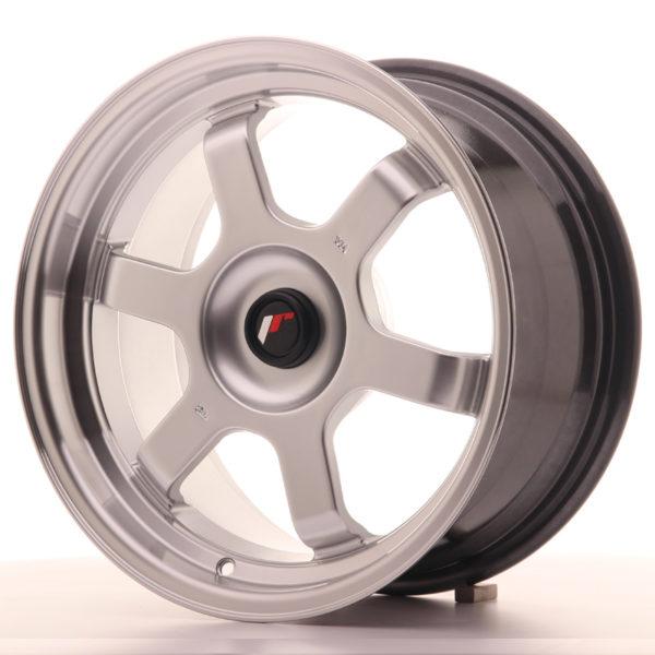 JR Wheels JR12 16x8 ET20-22 BLANK Hyper Silver w/Machined Lip