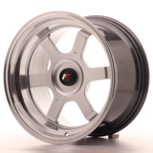 JR Wheels JR12 16x9 ET20 BLANK Hyper Silver w/Machined Lip
