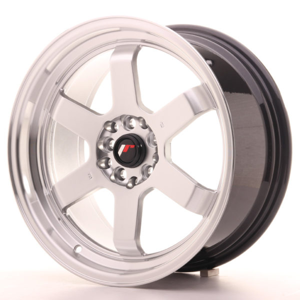 JR Wheels JR12 17x8 ET35 5x112/120 Hyper Silver w/Machined Lip